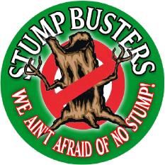 Stump Busters Tree Service Logo